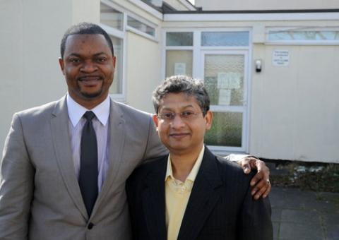Doctors Subrata Basu and Gbenga Odutola will take over Knights Surgery, Laindon, on March 25.