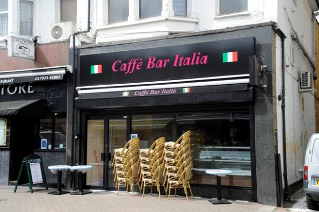 Caffe Bar Italia has moved into the property that was once Golden Discs.