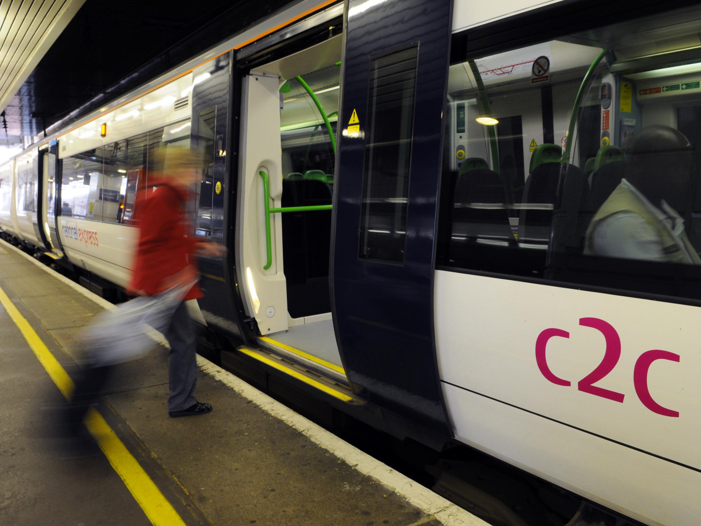 c2c commuters face three months of misery