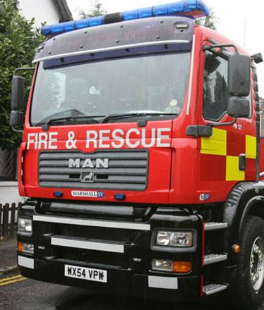 Fire crew called to London Road bin fire
