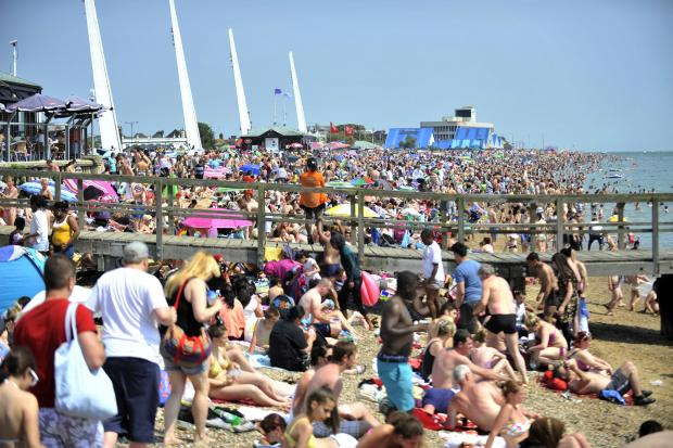 Jubilee Beach in Southend