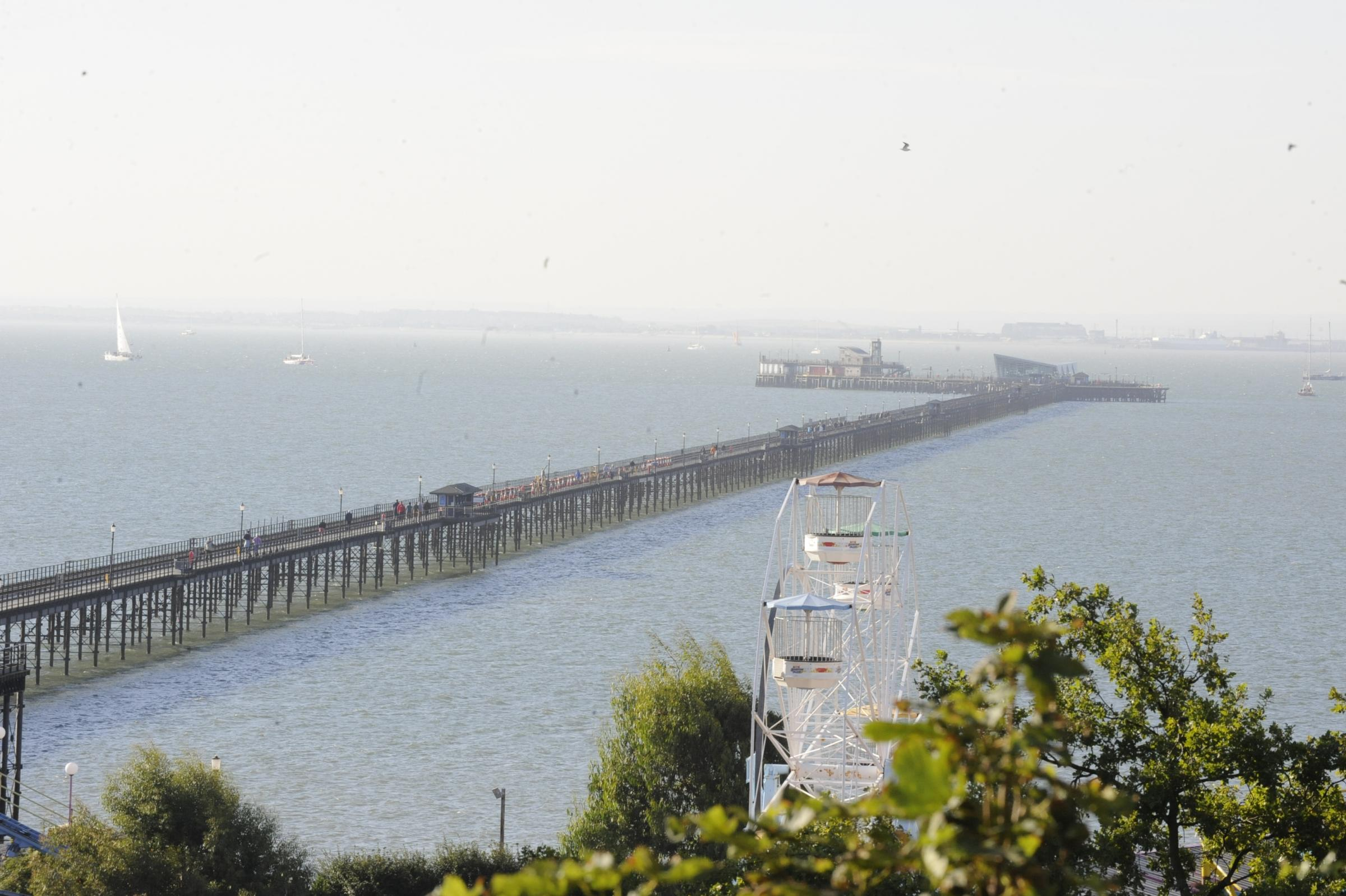 Southend Pier voted as one of England's top attractions