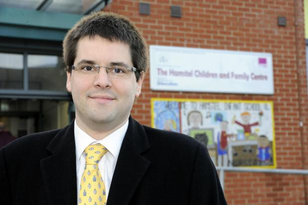 Southend councillor responsible for children and learning James Courtenay