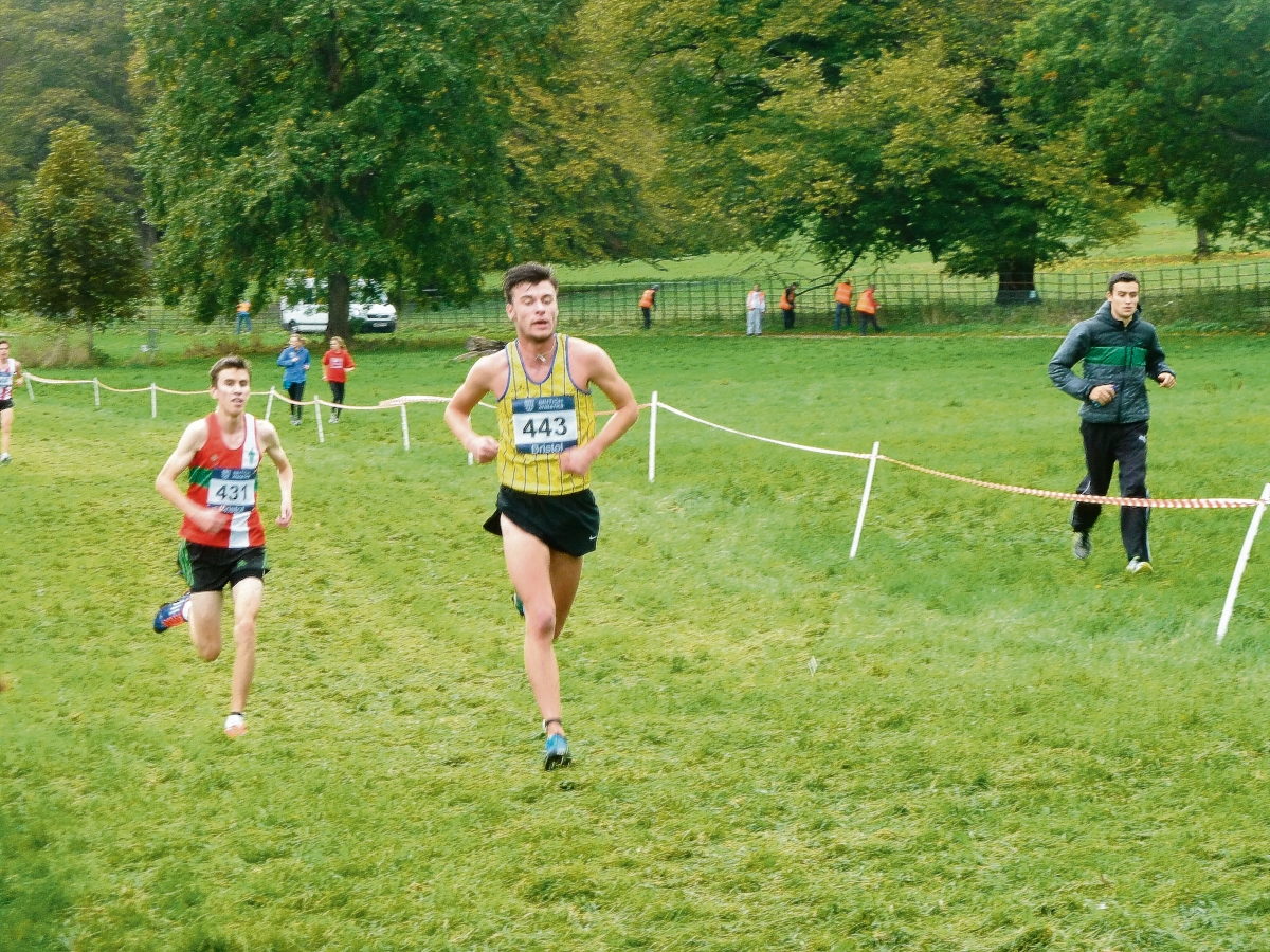 Tom Richardson on his way to second in Bristol