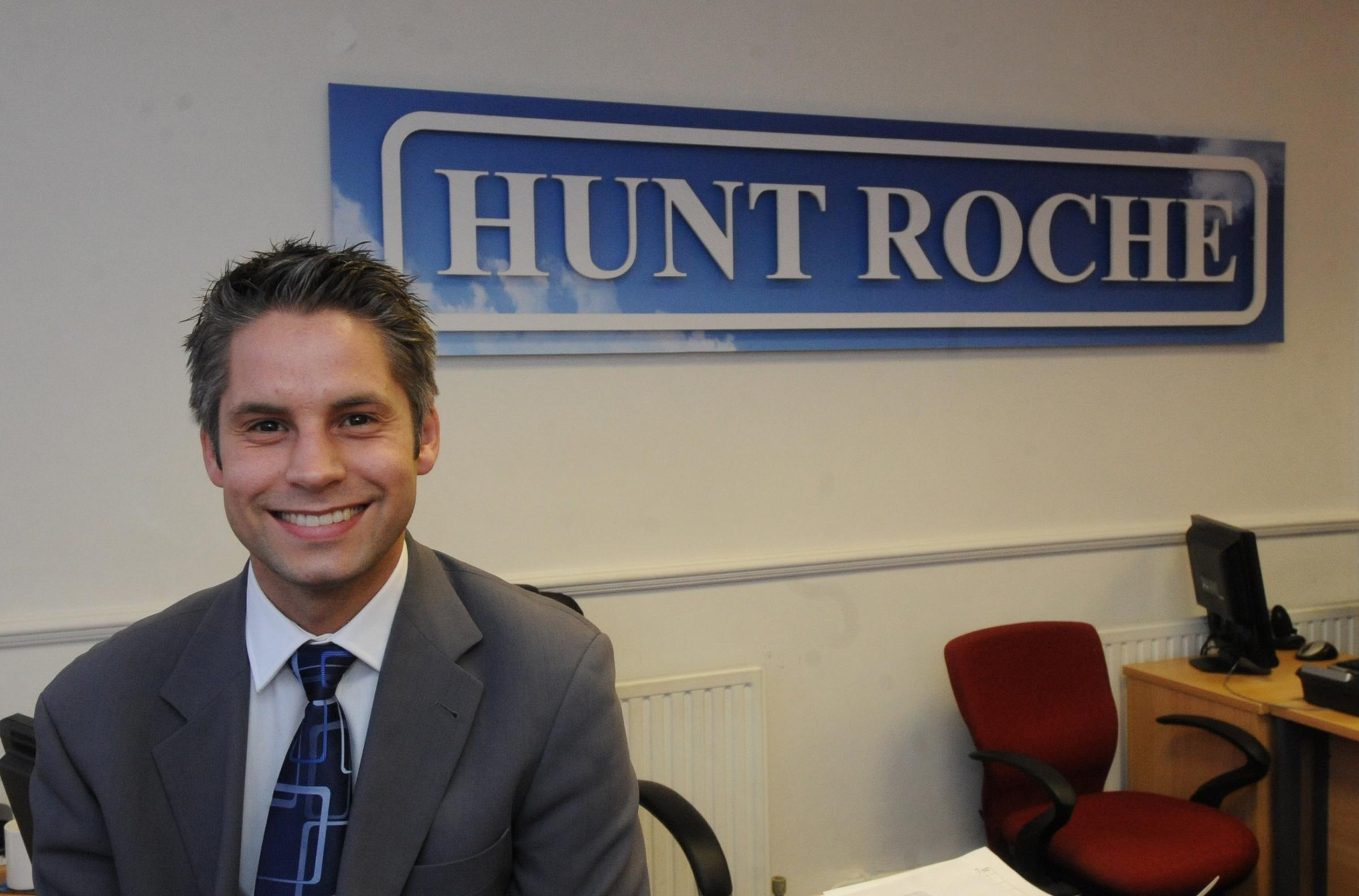 Rob Cooke, director of estate agent Hunt Roche, in Leigh