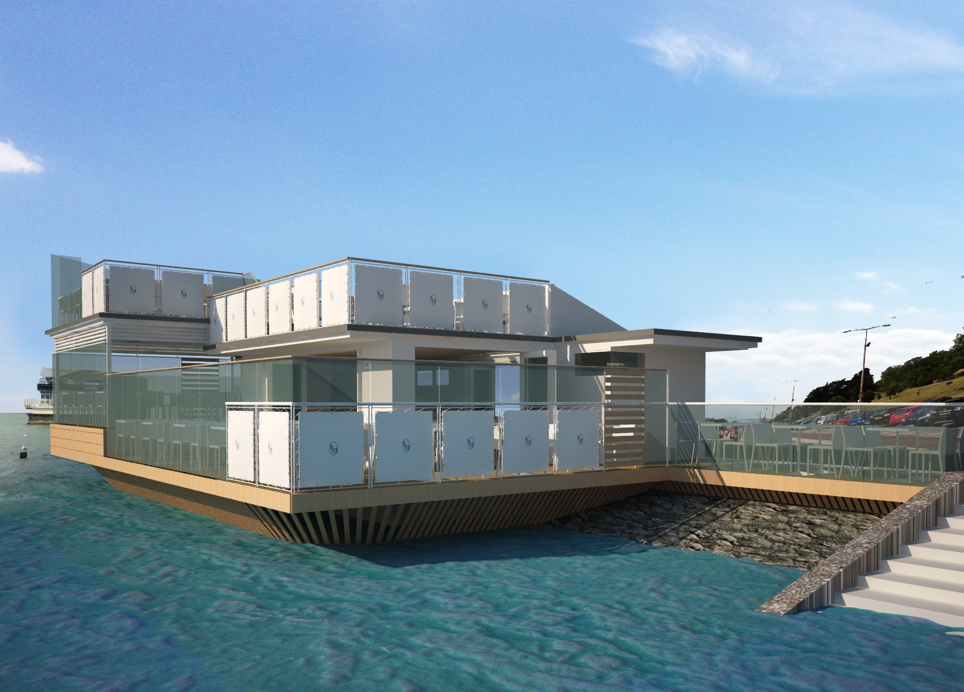 """Floating"" restaurant planned for Southend seafront could be scaled back"