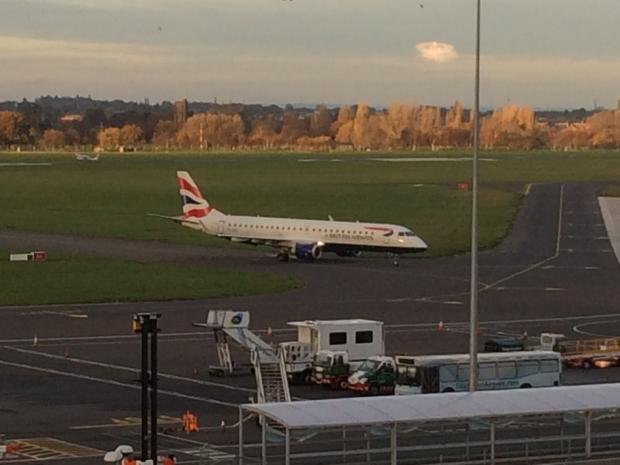 The accident took place near Southend Airport