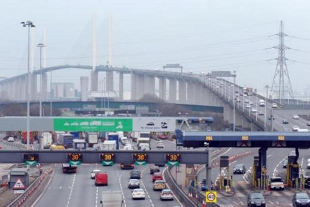 Southend Standard: Dartford Crossing was closed for four hours while police searched for the man