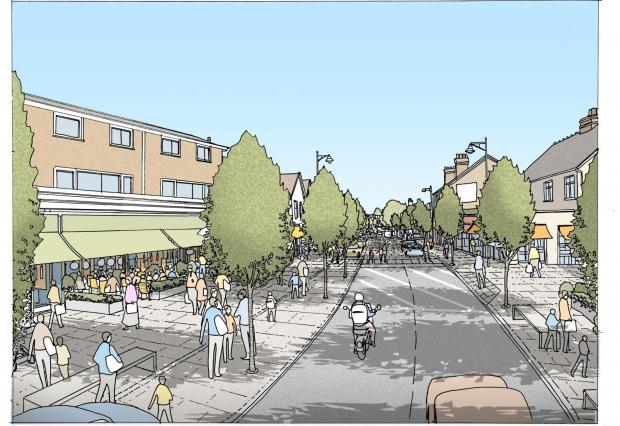 Vision of future for Rayleigh High Street