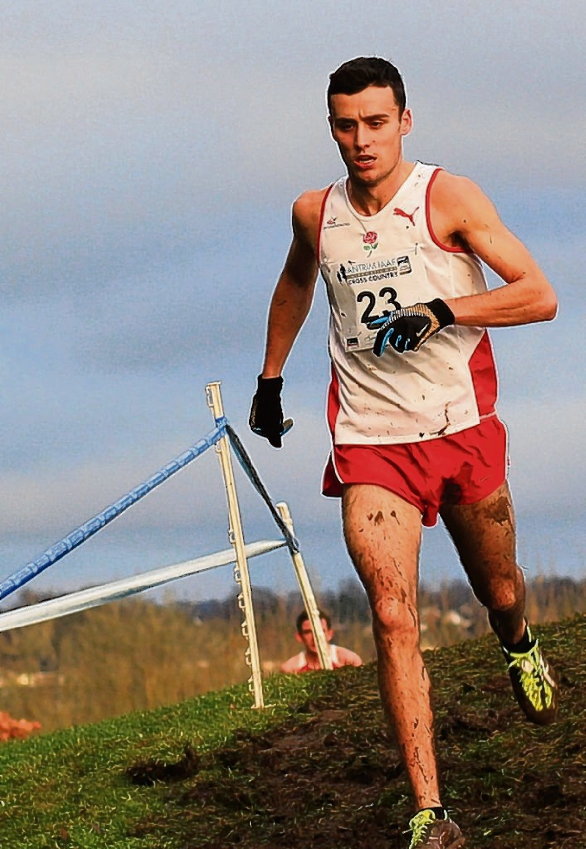 Adam Hickey in Antrim (pic courtesy of nirunning.co.uk