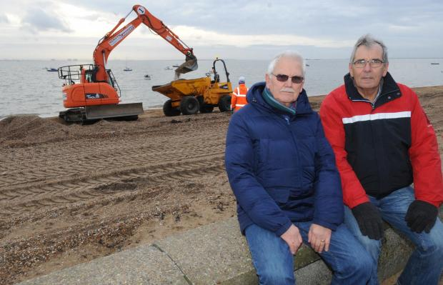 Oops! Council task force has to return the sand it shifted