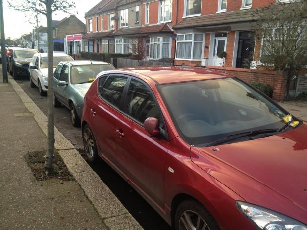 Wardens pounce on parking confusion
