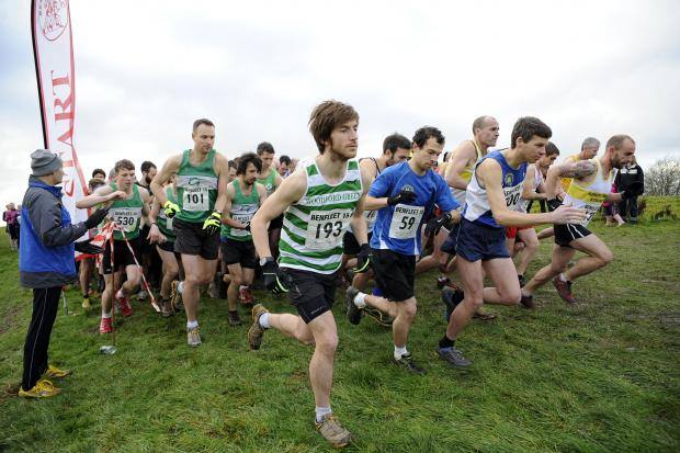 Southend Standard: Getting started - the runners get under way