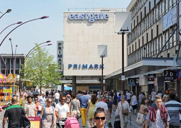 Southend Standard: Investigation into fire at Eastgate shopping centre