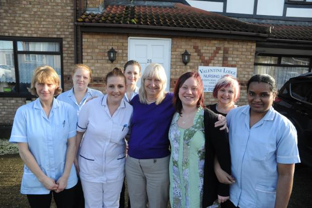 Care home comes up clean