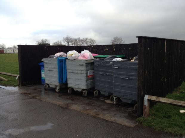 Crooks are rifling our bins in search of bank details