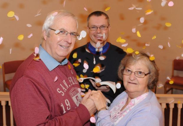 Bruce and Helen Bott will renew their wedding vows along with two dozen other couples in a service to be conducted by the Rev Warner Pidgeon in Billericay