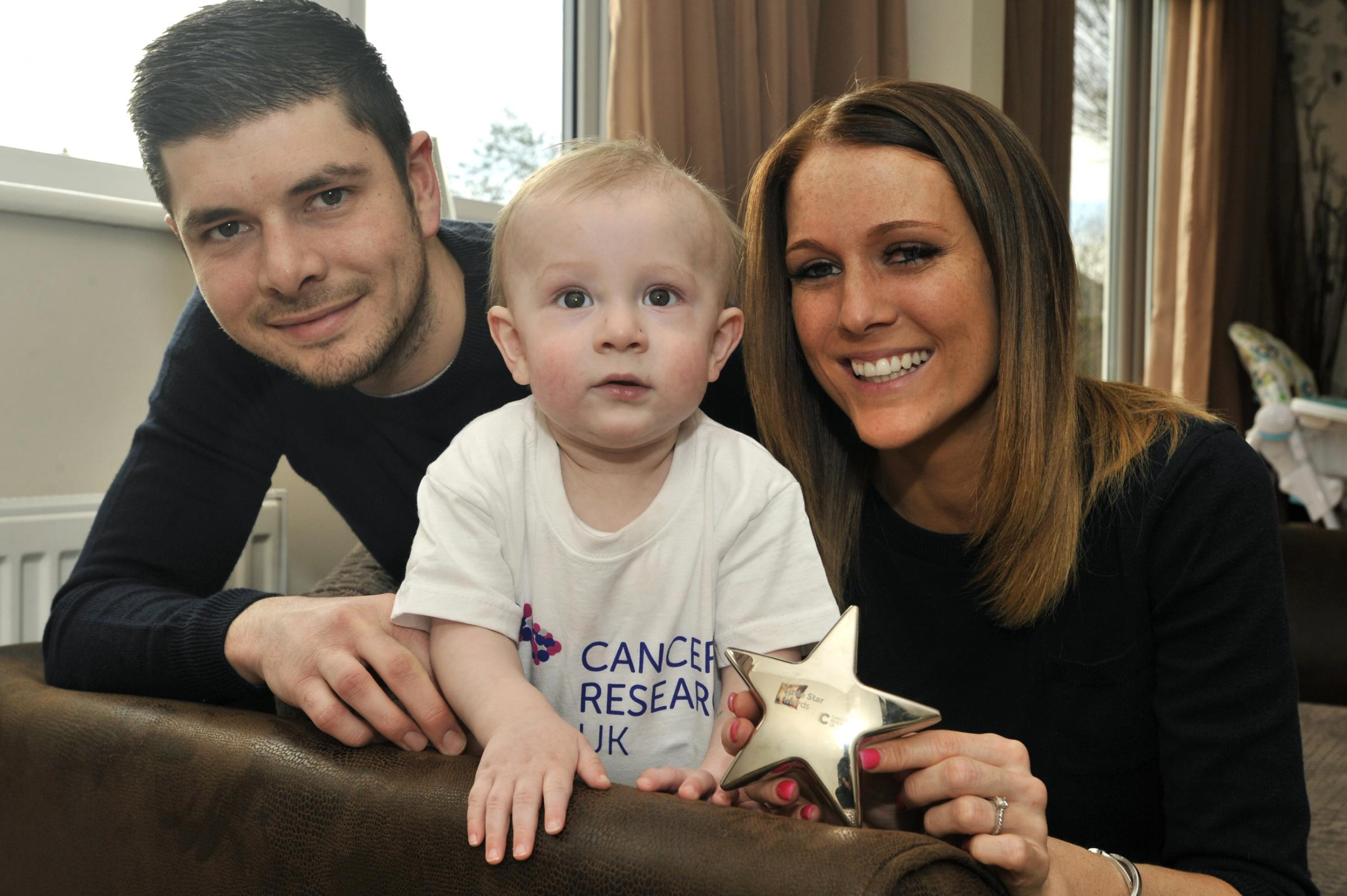 Miracle boy Maison named as one of the bravest tots in the country