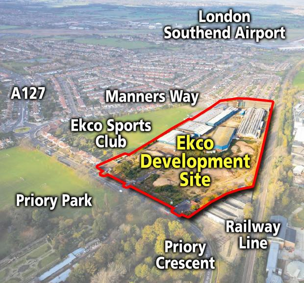 New plans for Ekco site homes unveiled