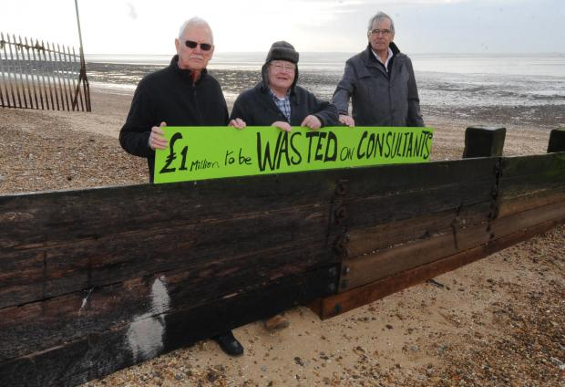 The Friends of Shoebury Common Ray Bailey, Peter Grubb and Peter Lovett