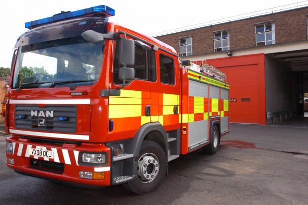 Fire crews called to A127 crash at Rayleigh Weir