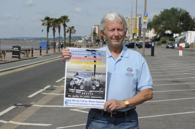 Monthly classic car rallies planned for Southend seafront