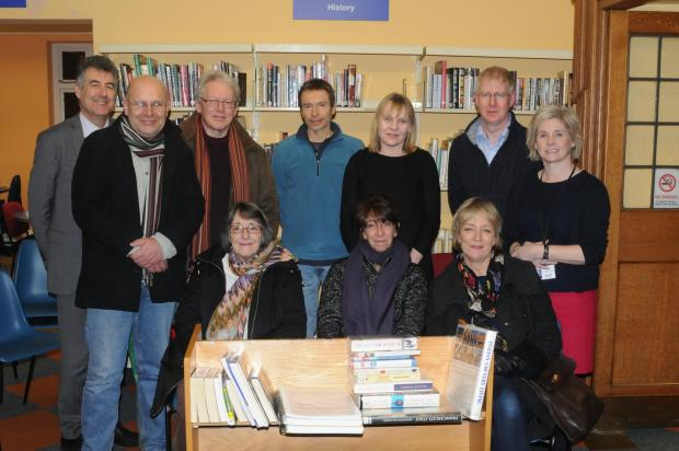 Southend Standard: Some of the volunteers who have offered their help to Leigh Library