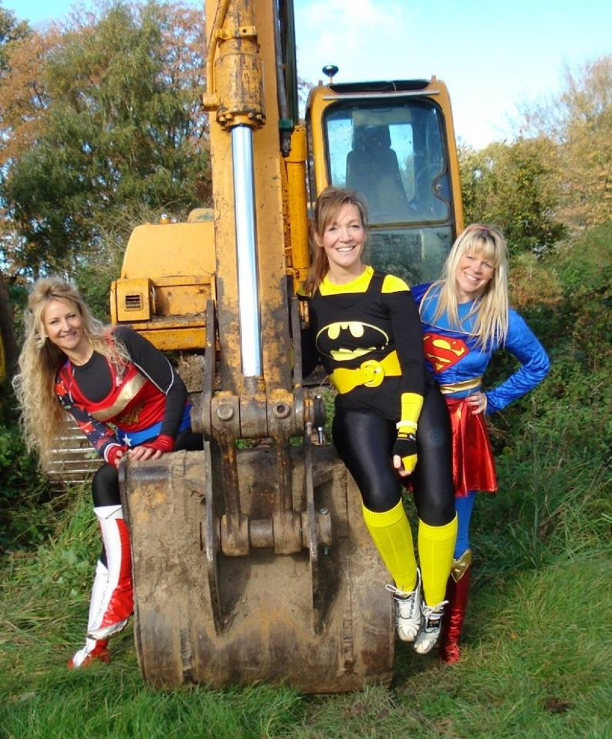 Superhero mums run for charities