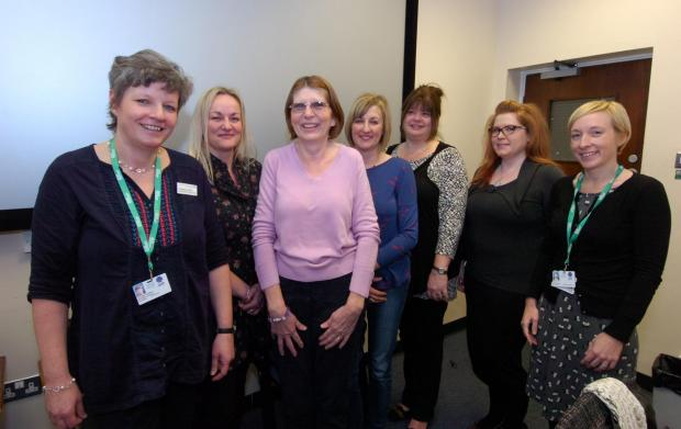 Volunteers get training at new hospital centre