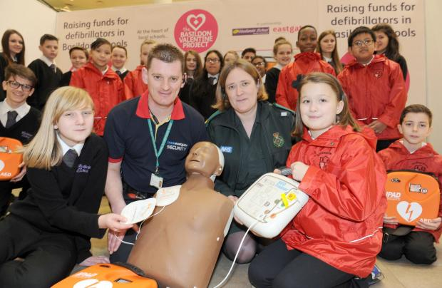 First defibrillators in memory of Leonie