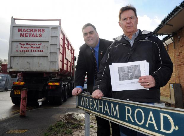 Campaigners fight scrap yard's new plans