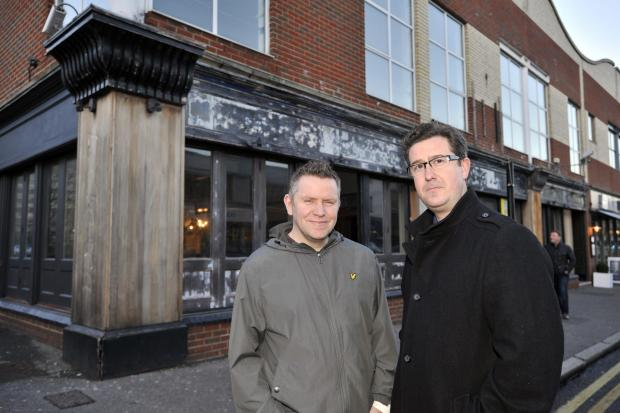 Businessmen ready to unveil new £1.5m bar