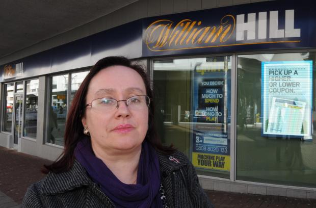 High stakes – Anne Jones at William Hill in Southchurch Road