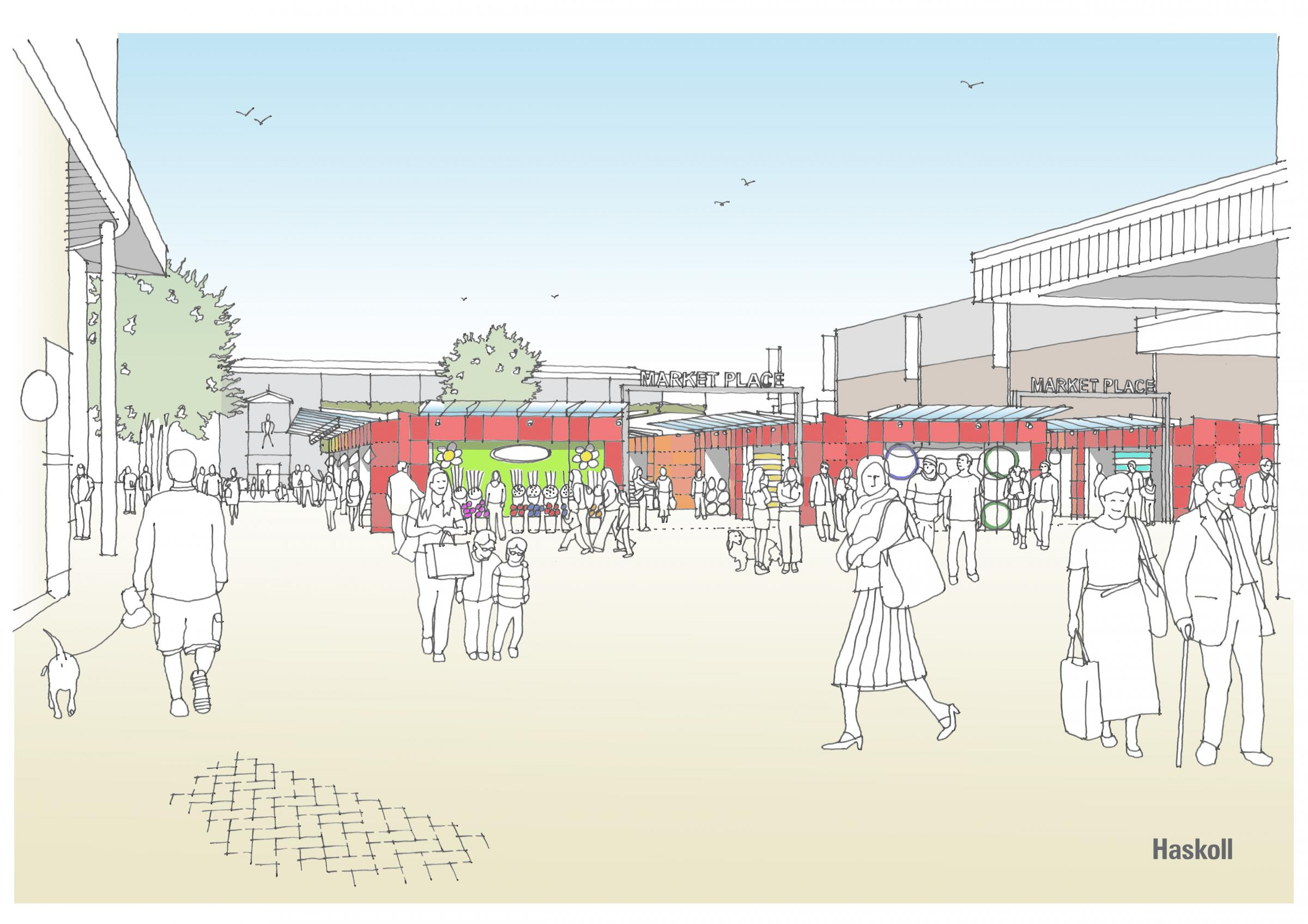 New college delayed by Basildon market decision