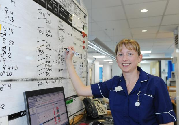 Tough role - Bec Boyes says many A&E people visit unnecessarily