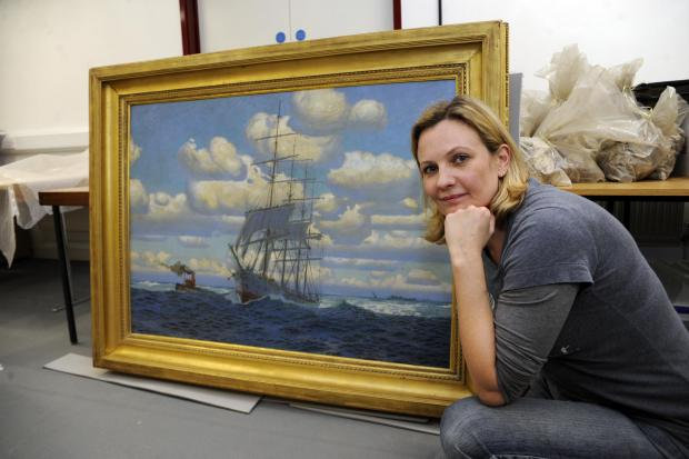 Southend Standard: Gallery given sought after painting of the town's past