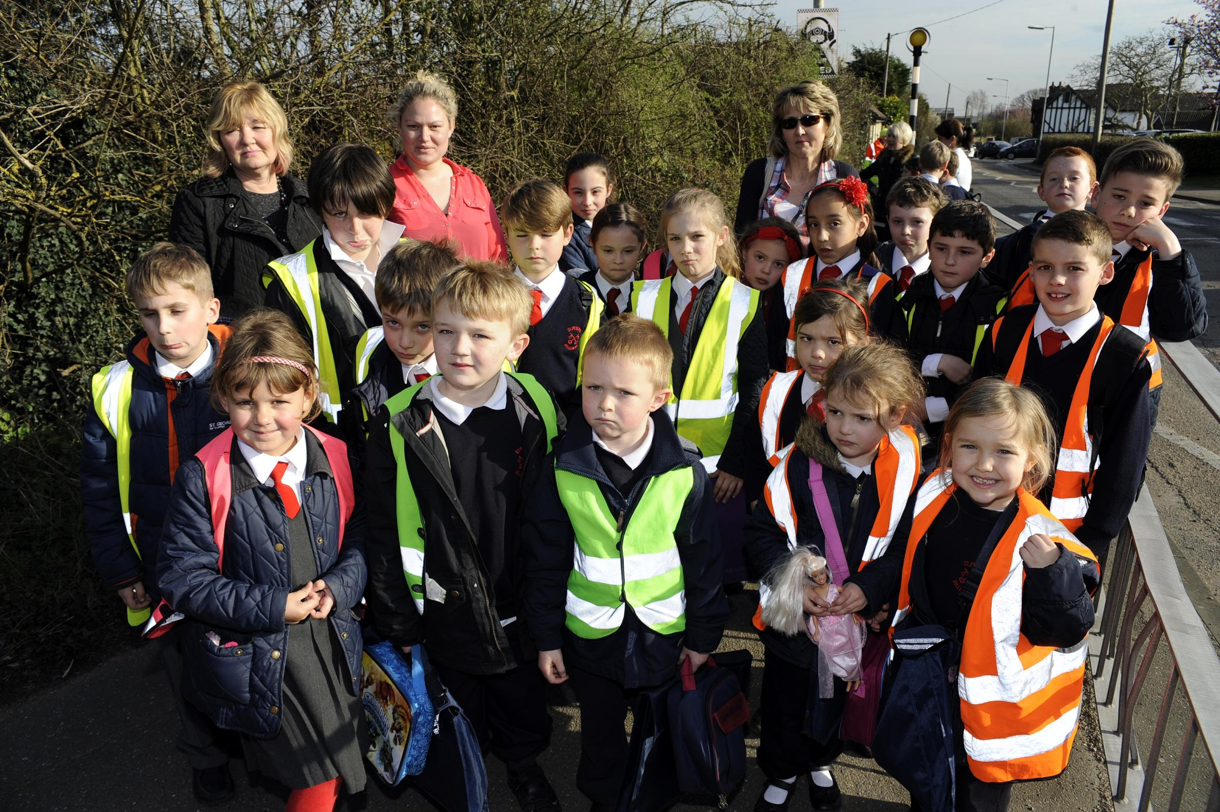 Billericay school campaigns to save lollipop man Tom