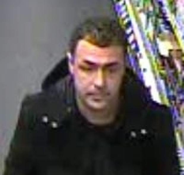 Man wanted over theft of alcohol from Shoebury store