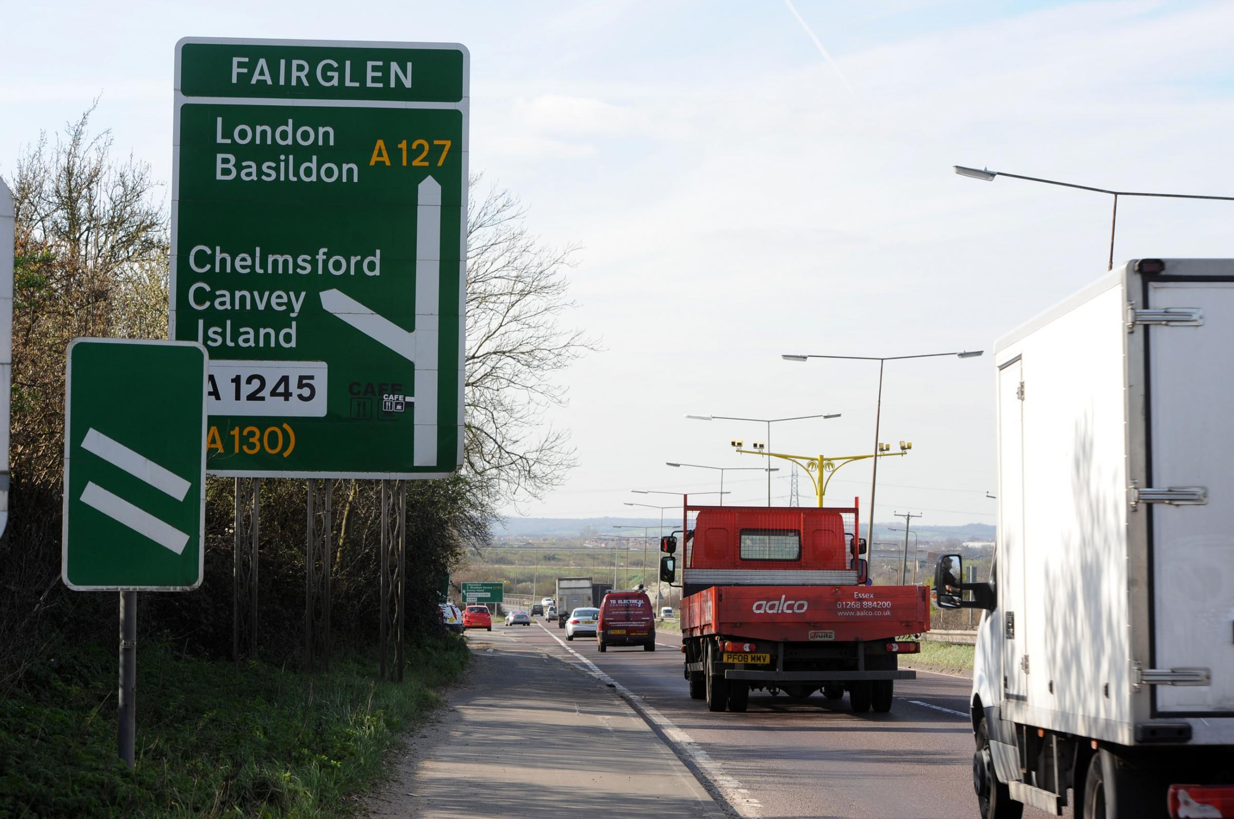Overnight roadworks on A127