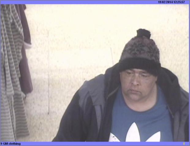 Southend Standard: This man is wanted after the television was removed from the store