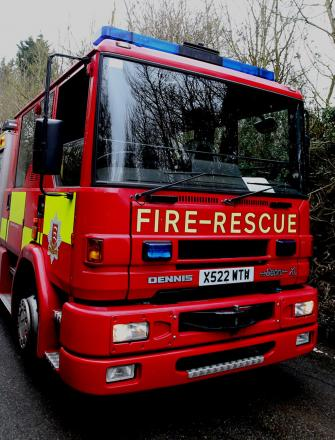 Candle causes fire at flat in Rochford