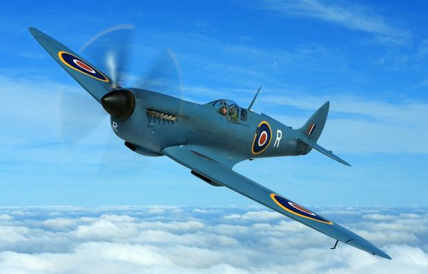 Southend Standard: Fighter – the Spitfire helped win the battle of the skies during the Second World War
