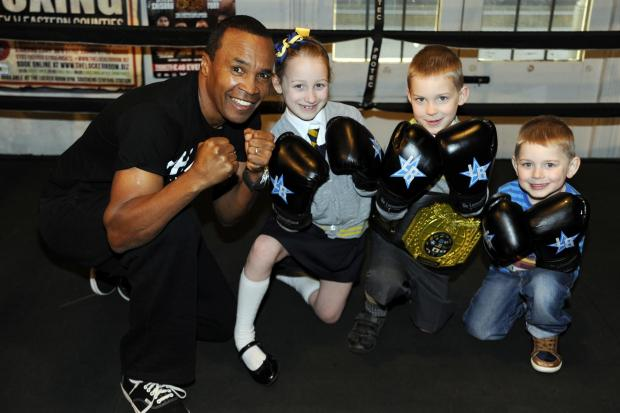Southend Standard: Champ Sugar Ray in Southend