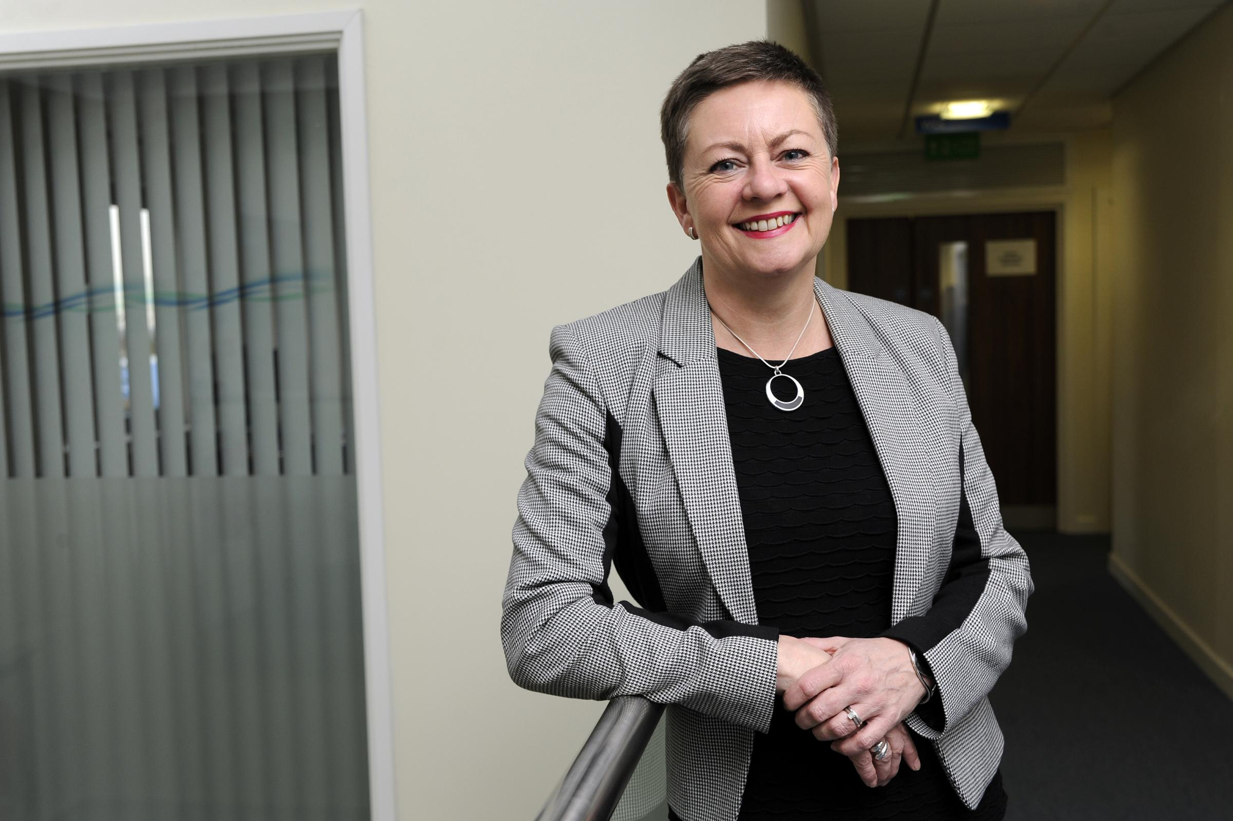 Jacqueline Totterdell - one of the top 50 NHS bosses in the country