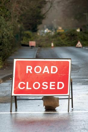 Fallen power lines close Little Wakering road during Friday rush hour