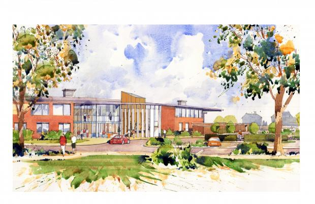 Southend Standard: An artist's impression of the new hospice