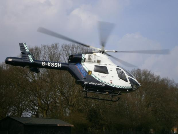 Basildon Hospital's air ambulance landing site set for development