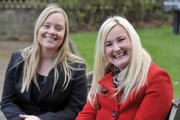 Southend Standard: Ecstatic – Tracy Godwin, right, with solicitor Johanne Turner