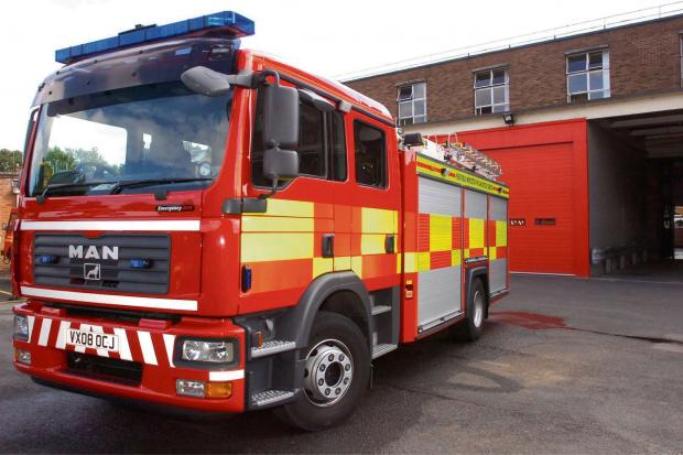 10 tonne rubbish fire classed as deliberate
