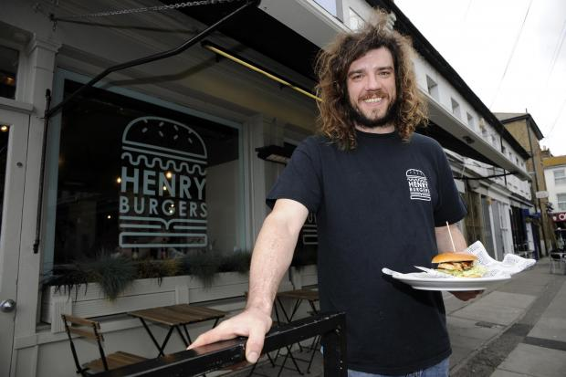 New burger bar for Leigh